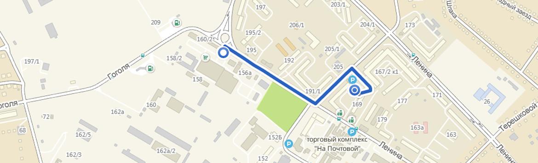 Ставрополь от Брусневского